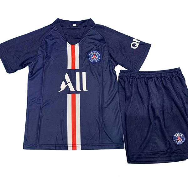 Camiseta Paris Saint Germain Replica Primera Niños 2019/2020 Negro